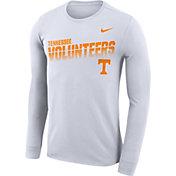 Nike Men's Tennessee Volunteers Legend Football Sideline Long Sleeve White T-Shirt