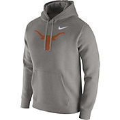Nike Men's Texas Longhorns Grey Club Hoodie