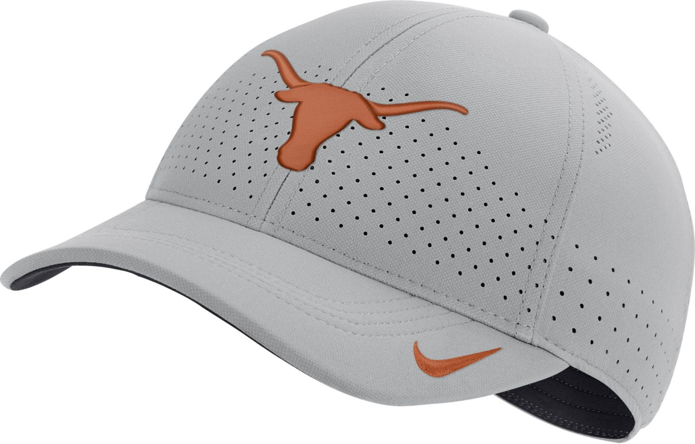 Nike Men's Texas Longhorns Grey Legacy91 Adjustable Hat