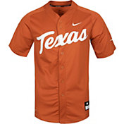 Nike Men's Texas Longhorns Burnt Orange Dri-FIT Replica Baseball Jersey