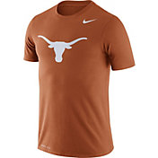 Nike Men's Texas Longhorns Burnt Orange Logo Dry Legend T-Shirt