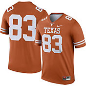 Nike Men's Texas Longhorns #83 Burnt Orange Dri-FIT Legend Football Jersey