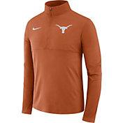 Nike Men's Texas Longhorns Burnt Orange Long Sleeve Core Half-Zip Shirt