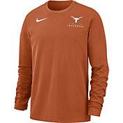 Nike Men's Texas Longhorns Burnt Orange Dri-FIT Modern Long Sleeve Crew Neck T-Shirt
