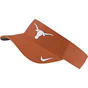 Nike Men's Texas Longhorns Burnt Orange AeroBill Football Sideline Visor