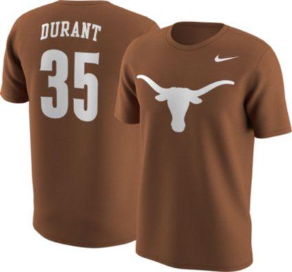 Nike Men s Texas Longhorns Kevin Durant  35 Burnt Orange Future Star  Basketball Jersey T-Shirt. noImageFound 0bd68f151
