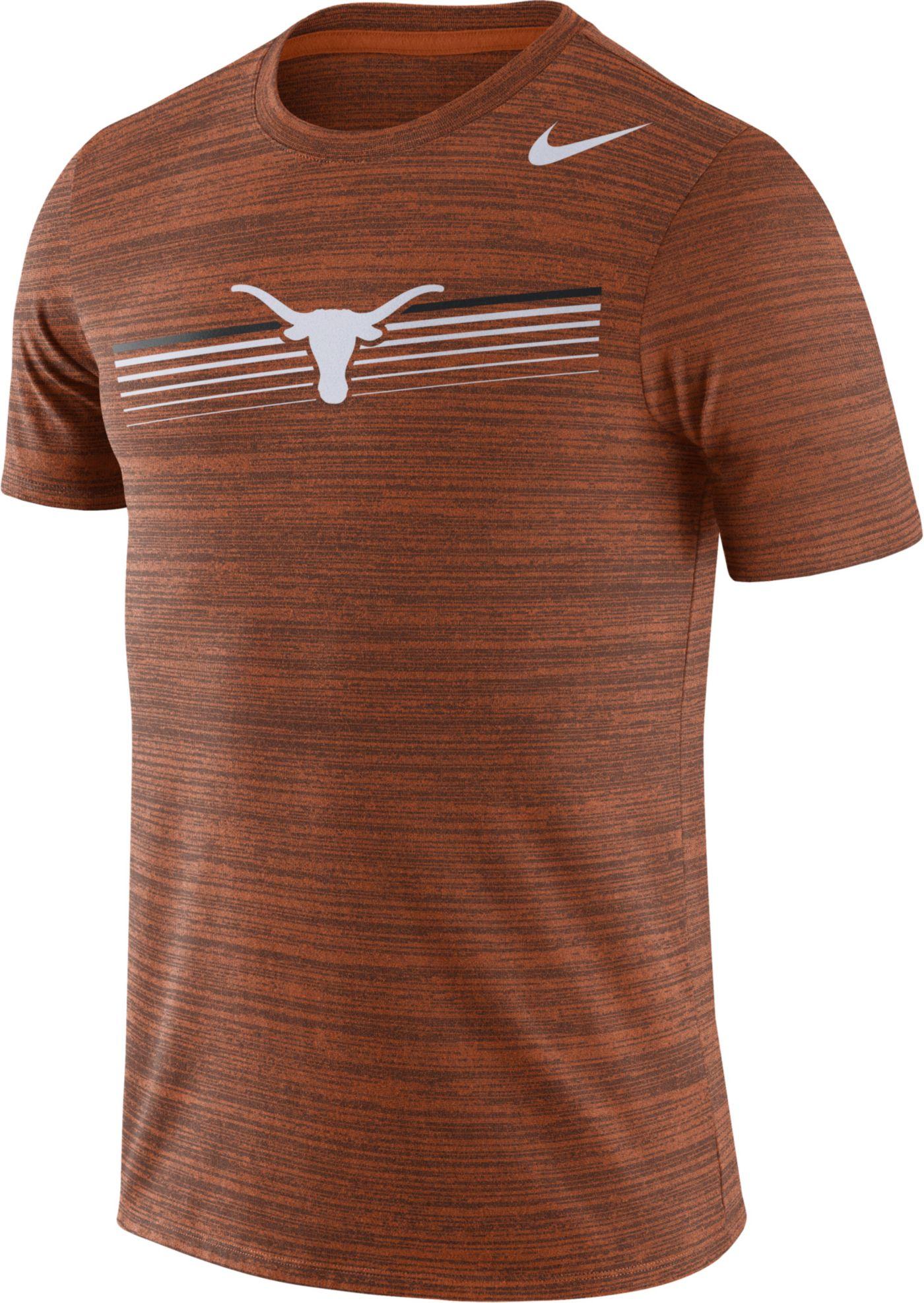 Nike Men's Texas Longhorns Burnt Orange Velocity Legend Graphic T-Shirt