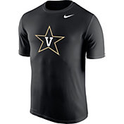 Nike Men's Vanderbilt Commodores Black Logo Legend T-Shirt