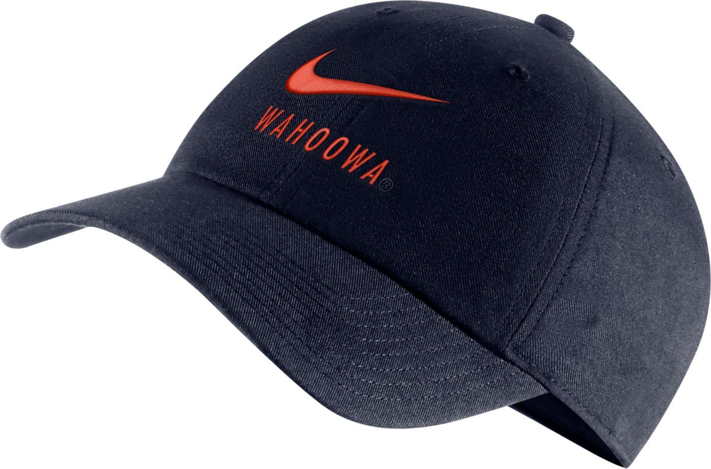 Nike Men's Virginia Cavaliers Blue Heritage86 Adjustable Hat