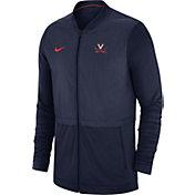 Jordan Men's Florida Gators Elite Hybrid Football Full-Zip White Jacket