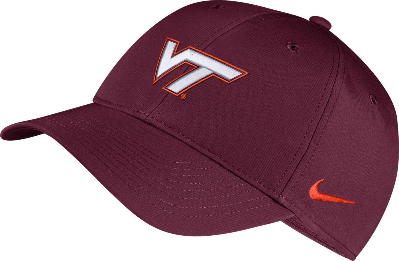 Nike Men's Virginia Tech Hokies Maroon Legacy91 Adjustable Hat