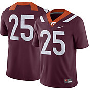 Nike Men's Virginia Tech Hokies #25 Maroon Game Football Jersey