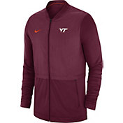 Jordan Men's Oklahoma Sooners Crimson Elite Hybrid Football Full-Zip Jacket