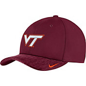 Nike Men's Virginia Tech Hokies Maroon Aerobill Swoosh Flex Classic99 Football Sideline Hat