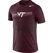 Nike Men's Virginia Tech Hokies Maroon Velocity Legend Graphic T-Shirt