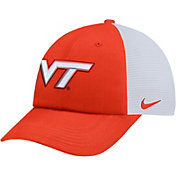 Nike Men's Virginia Tech Hokies Burnt Orange Heritage86 Adjustable Trucker Hat