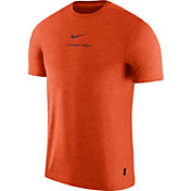 Nike Men's Virginia Tech Hokies Burnt Orange Dri-FIT Coach UV Football T-Shirt