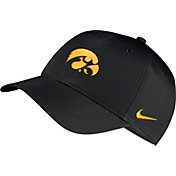 Nike Men's Iowa Hawkeyes Legacy91 Adjustable Black Hat