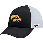 Nike Men's Iowa Hawkeyes Black Heritage86 Adjustable Trucker Hat