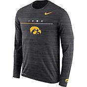 Nike Men's Iowa Hawkeyes Velocity Legend Graphic Long Sleeve Black T-Shirt