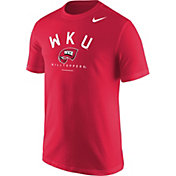 Nike Men's Western Kentucky Hilltoppers Logo Red T-Shirt