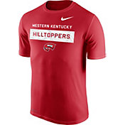 Nike Men's Western Kentucky Hilltoppers Red Dri-FIT Legend Lift Football T-Shirt