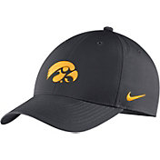 Nike Men's Iowa Hawkeyes Anthracite Legacy91 Adjustable Hat