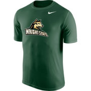 Nike Men's Wright State Raiders Green Logo Legend T-Shirt
