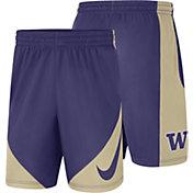Nike Men's Washington Huskies Purple Basketball HBR Shorts