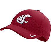 Nike Men's Washington State Cougars Crimson Aerobill Classic99 Football Sideline Hat