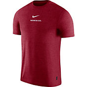 Nike Men's Washington State Cougars Crimson Dri-FIT Coach UV Football T-Shirt