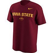 Nike Men's Iowa State Cyclones Cardinal Lockup T-Shirt