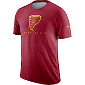 Nike Men's Iowa State Cyclones Cardinal Player Dri-FIT Basketball T-Shirt