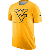 Nike Men's West Virginia Mountaineers Gold Player Dri-FIT Basketball T-Shirt