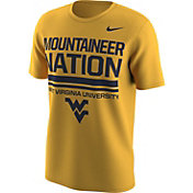 Nike Men's West Virginia Mountaineers Gold Local T-Shirt