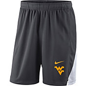Nike Men's West Virginia Mountaineers Grey Franchise Shorts