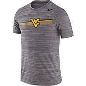 Nike Men's West Virginia Mountaineers Grey Velocity Legend Graphic T-Shirt