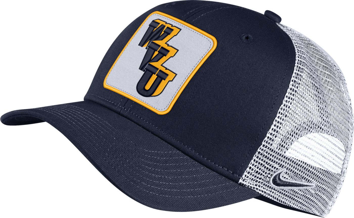 Nike Men's West Virginia Mountaineers Blue Retro Classic99 Trucker Hat