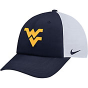 Nike Men's West Virginia Mountaineers Blue Heritage86 Adjustable Trucker Hat