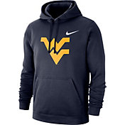 Nike Men's West Virginia Mountaineers Blue Club Fleece Pullover Hoodie