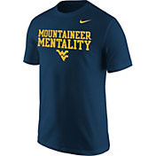 Nike Men's West Virginia Mountaineers Blue 'Mountaineer Mentality' Fan T-Shirt