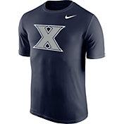 Nike Men's Xavier Musketeers Blue Logo Legend T-Shirt