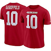 Nike Men's San Francisco 49ers Jimmy Garoppolo #10 Pride Red T-Shirt