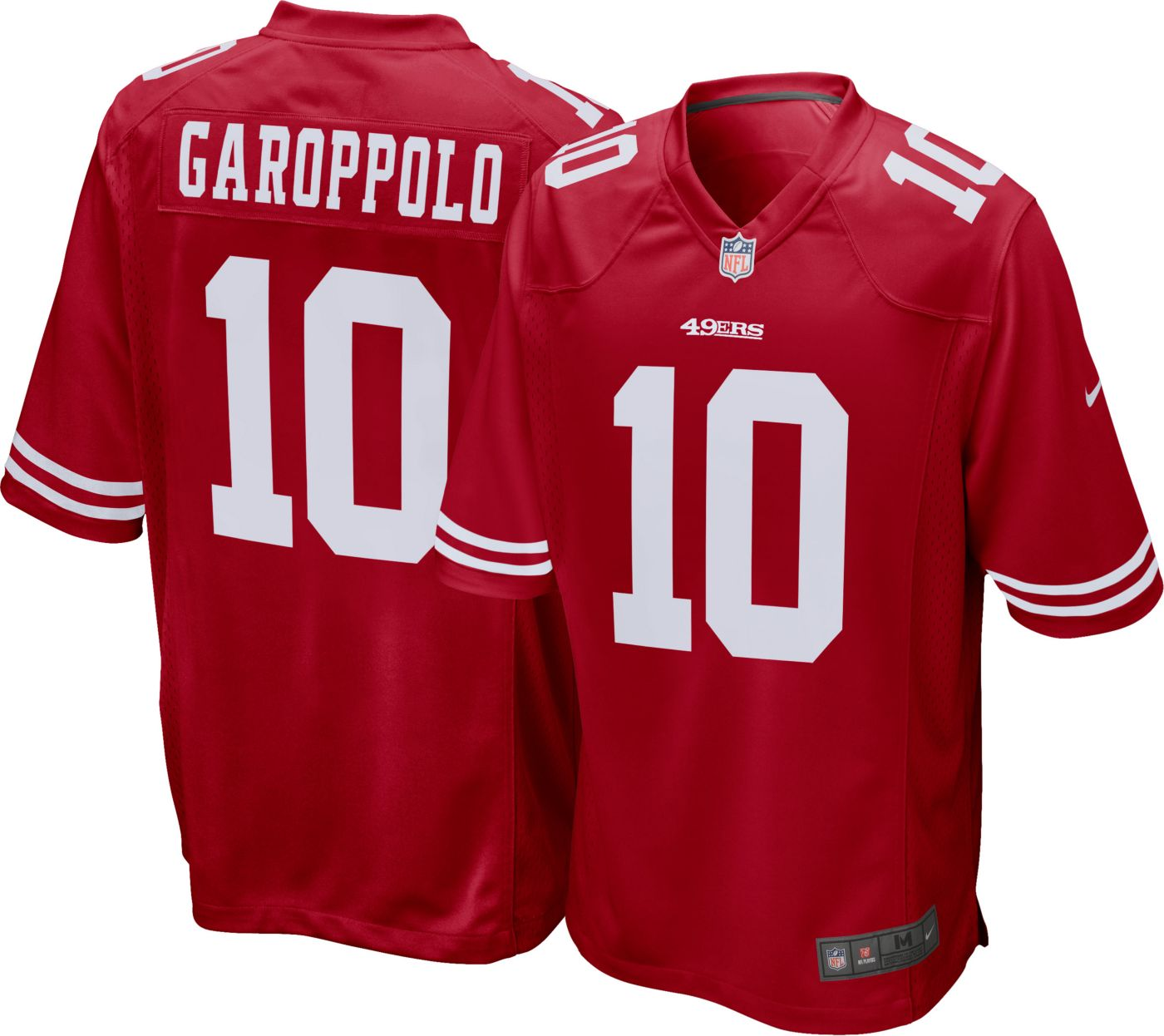 Nike Men's Home Game Jersey San Francisco 49ers Jimmy Garoppolo #10