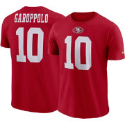 Jimmy Garoppolo #10 Nike Men's San Francisco 49ers Pride Red T-Shirt
