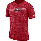 Nike Men's San Francisco 49ers Sideline Legend Velocity Red T-Shirt