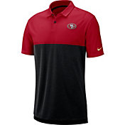 Nike Men's San Francisco 49ers Sideline Early Season Red Polo