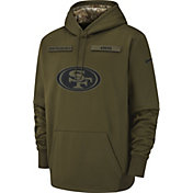 Nike Men's Salute to Service San Francisco 49ers Therma-FIT Performance Hoodie