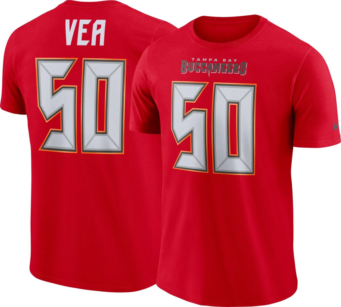 Vita Vea Nike Men's Tampa Bay Buccaneers Pride Red T-Shirt