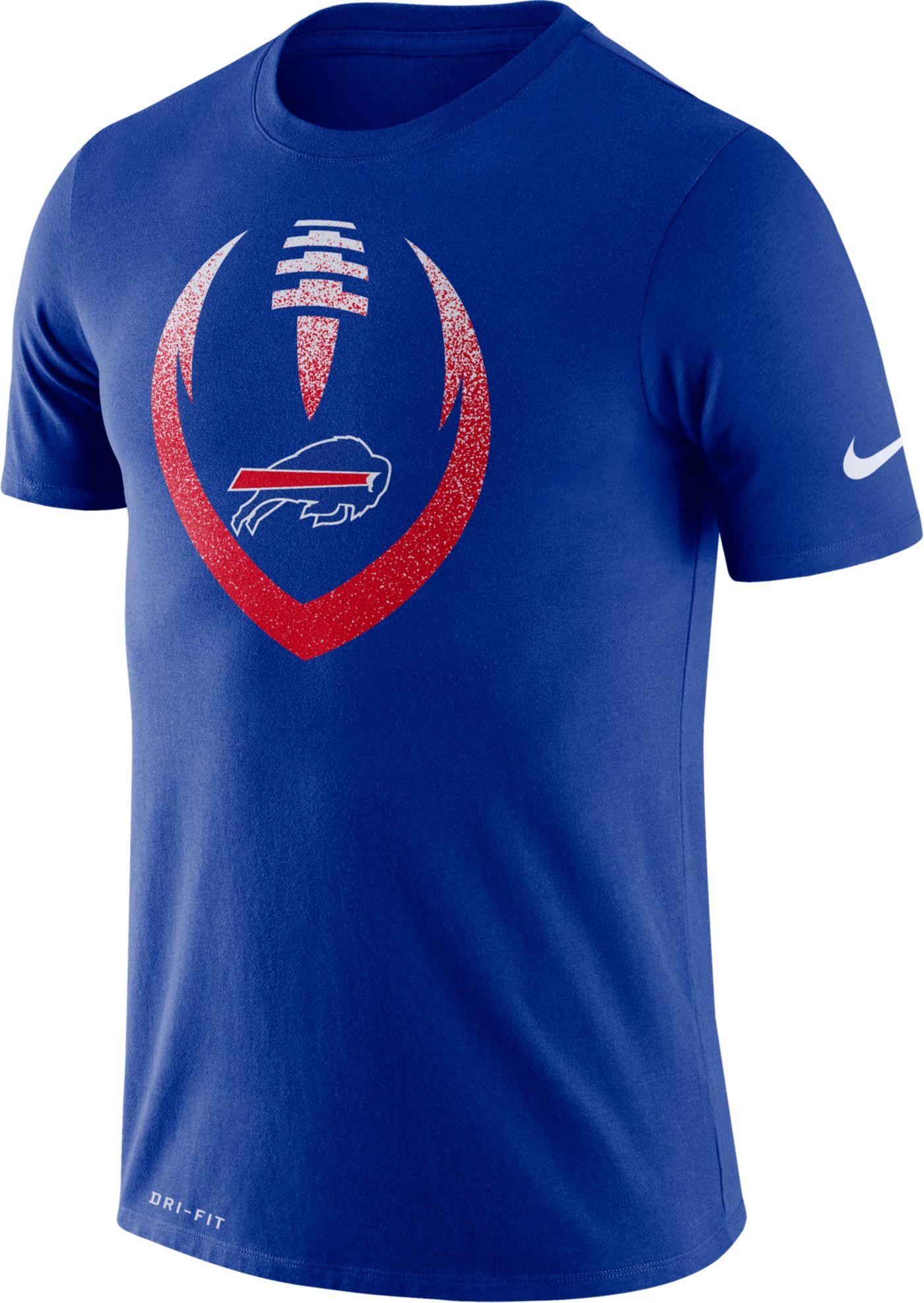 Nike Men's Buffalo Bills Icon Royal Performance T-Shirt